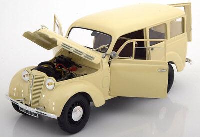 1:18 Norev Renault 300 kg Juvaquarte 1951 creme