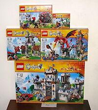 NEW SEALED LEGO 70404 70403 70402 70401 70400 KINGS CASTLE DRAGON MOUNTAIN RAID