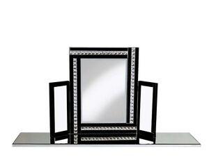 New modern crystal design dressing table mirror bevelled cm
