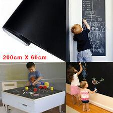 Chalkboard world map vinyl wall decal ebay 2mx06m removable blackboard vinyl sticker chalkboard decal peel stick on wall gumiabroncs Images