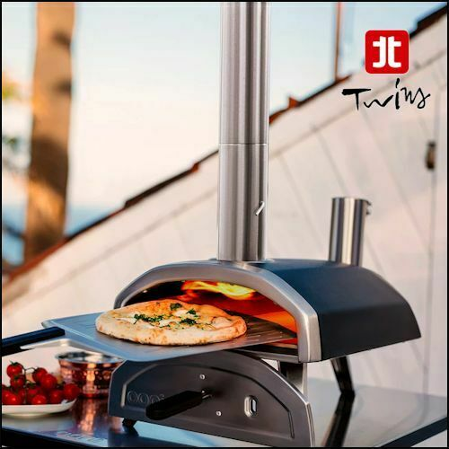 Forno a legna in pellet per pizza Ooni Fyra portatile 500°C come in pizzeria