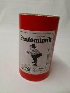 Pantomimik-De-Hanno-Vonke-Rareza-Castor-Fiber-Spielverlag-Muy-Raro