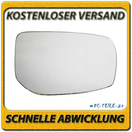 Spiegelglas für TOYOTA AVENSIS T25 2006-2008 rechts Beifahrerseite konvex