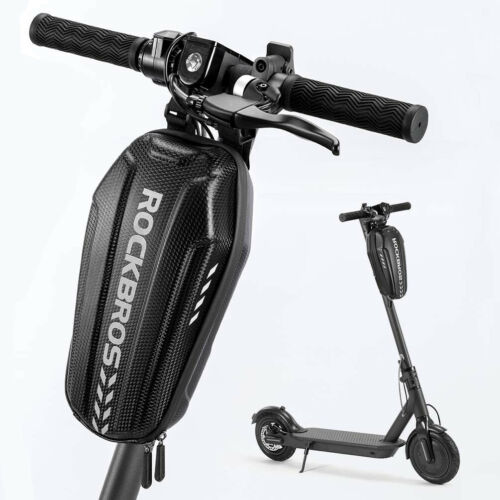 RockBros Waterproof Electric Scooter Front Hanging Bag Folding Bike Frame Bag 3L