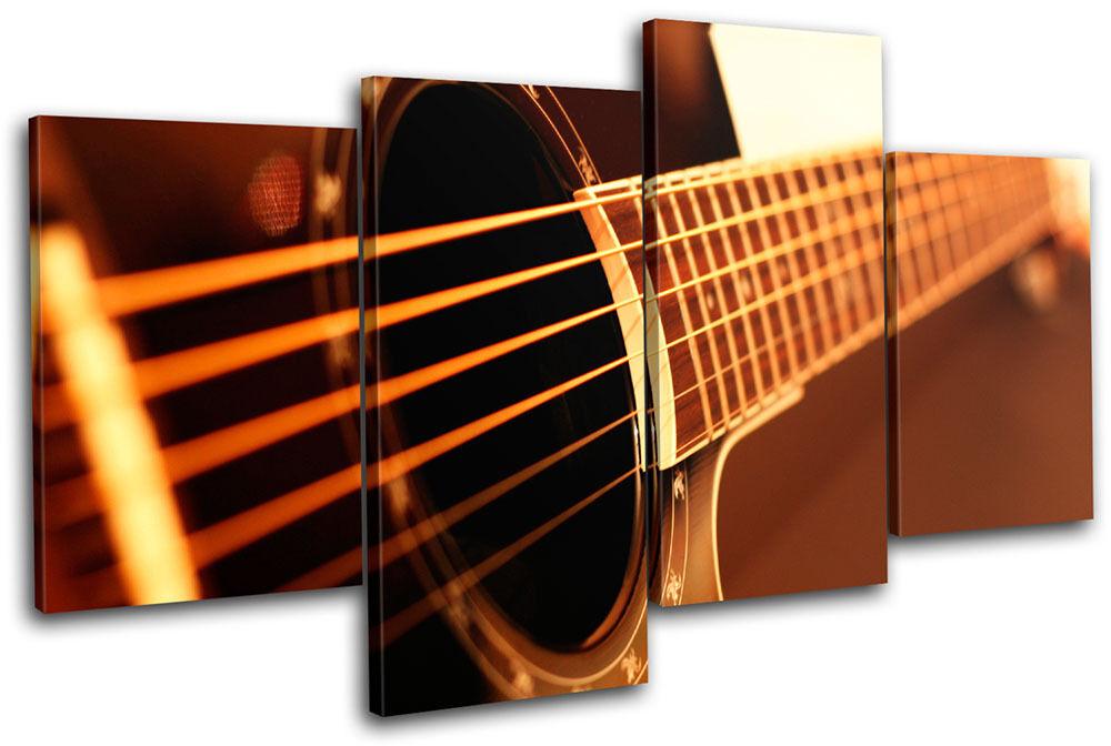 Guitar Guitar Guitar INSTRUMENTS Musical MULTI TELA parete arte foto stampa b0f541