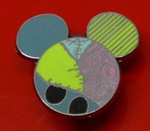 Used-Disney-Enamel-Pin-Badge-Mickey-Head-Sally-Small-Mystery-Badge