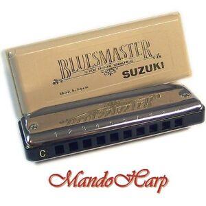 Suzuki-Harmonica-MR-250-Bluesmaster-KEY-OF-C-NEW