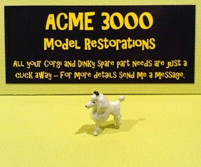 b40 corgi toys kennel club dog painted poodle//dog painted ref 486
