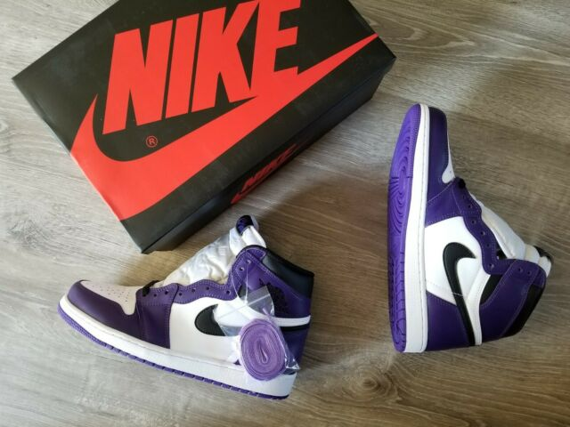 Size 7.5 - Jordan 1 Retro High OG Court Purple 2.0 2020