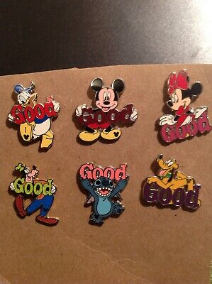 Disney Hidden Mickey Good Pluto Pin