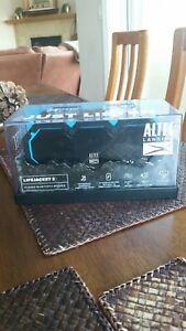 BRAND NEW DAMAGED BOX  Altec Lansing Boom Jacket IMW576 Bluetooth Speaker