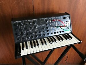 Korg MS-20 Original Analog Mono Synth Pro overhauled w/ patch cables
