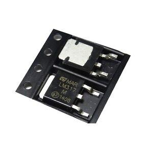 10pcs LM317 LM317M TO252 Adjustable Voltage Regulator