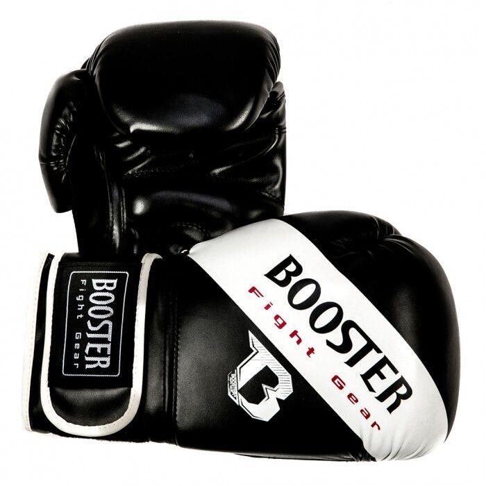 Booster Boxhandschuhe Sparring  BT Weiß Weiß Weiß Stripe .6oz-16oz. Guter Schutz. f1c807