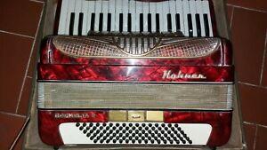 Fisarmonica Hohner 96 Bassi, Anni 70.