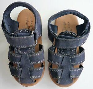 F\u0026F Navy Kids Sandals – Size UK 6