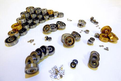 Miniaturkugellager 8 x 22 x 7 mm ZZ C3 SKF Markenlager 2 Stück 608 2Z