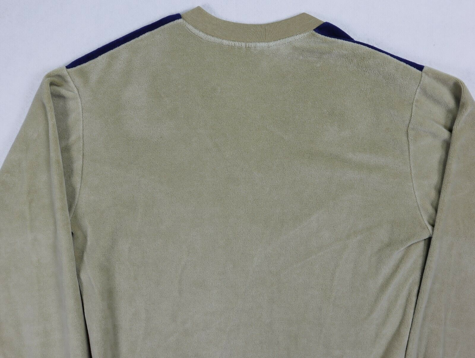Sears Sportswear mens velour sweater medium brown… - image 12