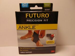 Futuro-Precision-Fit-Adjustable-Ankle-Moderate-Support-Brace-One-Size-Men-Women