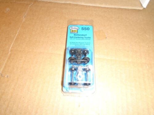 KADEE #550 HO SCALE BETTENDORF SELF CENTERING TRUCKS