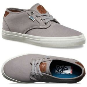 00be26310f0f9d Image is loading VANS-Chima-Estate-Pro-Herringbone-Light-Grey-UltraCush-