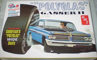 "amt 1:25 Pontiac /'62 Catalina ""Polyglas"" Gasser II"