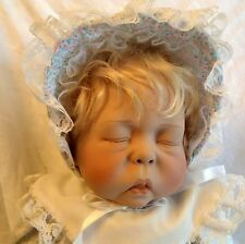VINTAGE 1991 Lee Middleton FOREVER CHERISH Asleep Collectible Doll