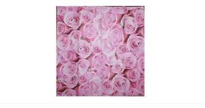 ♥ Mouchoirs En Papier Paper Napkins Rose PÉtales B37 ♥