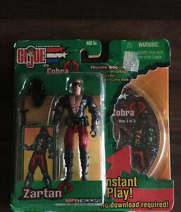 Gi Joe Vs Cobra Zartan Classified 25th 50th Roc Poc Fss Sdcc Retro