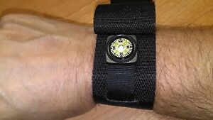 Black Tactical Watch Band