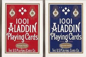12-DECKS-1001-Aladdin-playing-cards-SMOOTH-FINISH