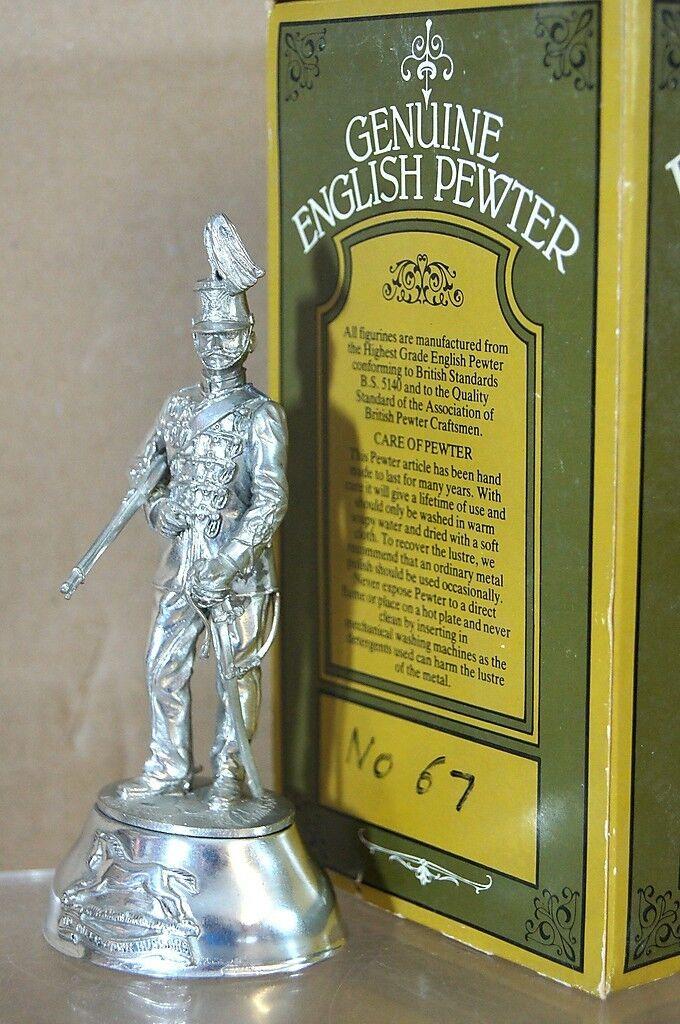 Chas Stadden 90mm Buckingham Zinn Trooper Queens Eigene Husaren Neuwertig
