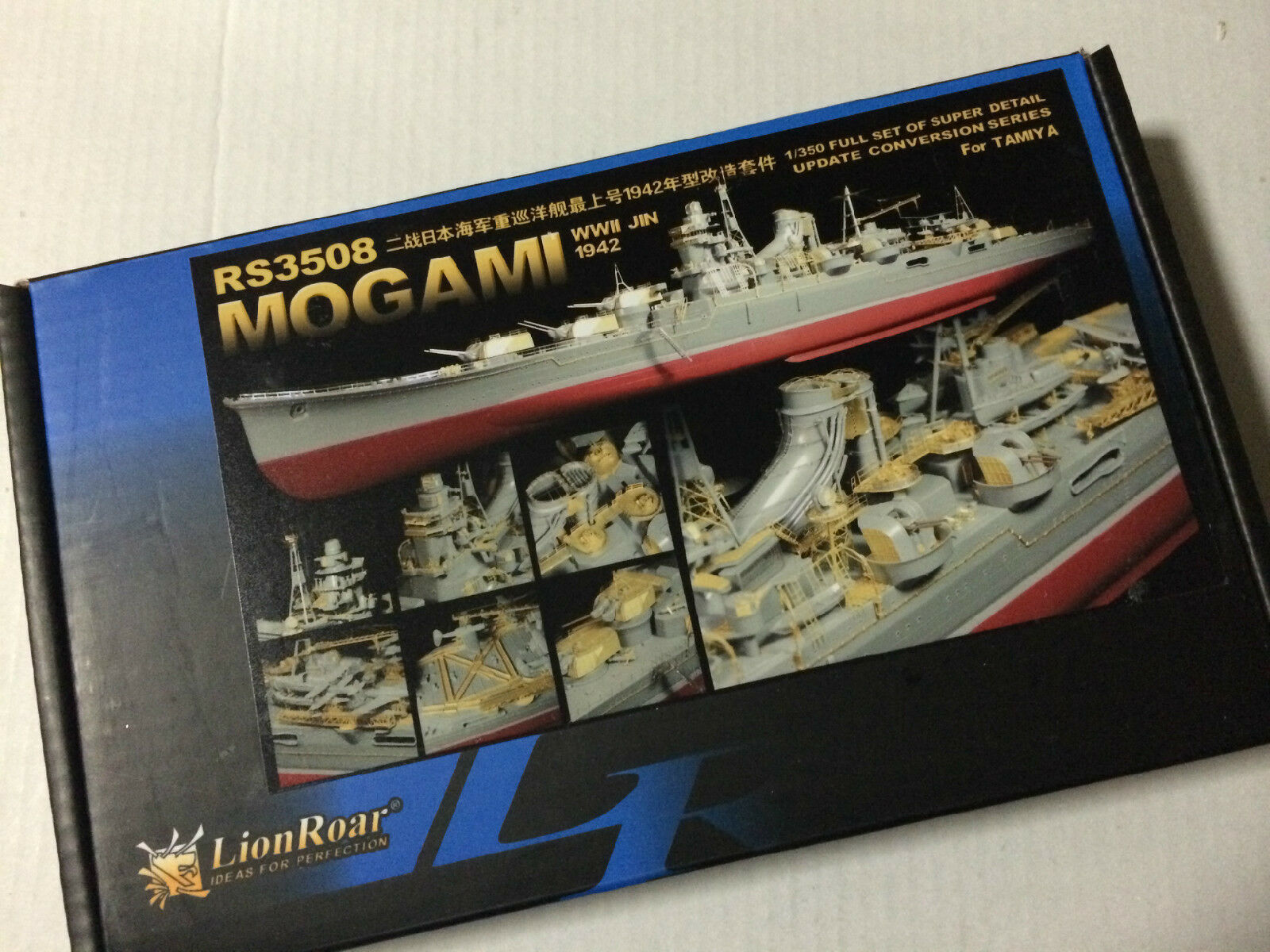 Lionroar 1 350 RS3508 IJN heavy cruiser Mogami for Tamiya