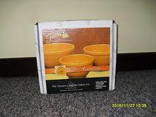 Fiesta Marigold Baking Bowl Set 3 PC 75th Anniversary Fiestaware ...