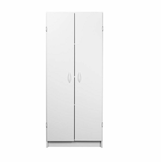 Closetmaid 8967 Pantry Cabinet 4 Shelf 24 In Oaw 59 1 2 In Oah White For Sale Online