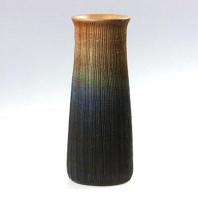 Ikebana Vaso Con Sfumatura, Giapponesi Nageire, Ceramica In-020- Piacevole Al Palato