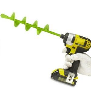 Garden-Spiral-Auger-Drill-Planter-Bulb-Shaft-Yard-Planting-Tool-Digger-New-J0Y7