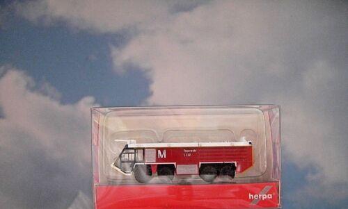 Herpa Wings 1:200 Flughafenzubehör  Airport München Fire Engine  558853