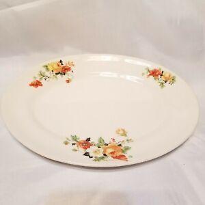 Homer-Laughlin-Rose-And-Poppy-K4124-Kwalker-Olivia-L39-N6-Serving-Platter-11-1-4