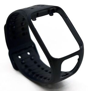 NEW-OEM-TomTom-Strap-LARGE-Black-Spark-2-Runner-3-GPS-Watch-Comfort-Cardio-Slim