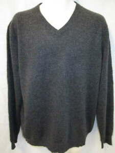 bcd27839d5 100% Cashmere Gray neck Sweater No brand label May fit Men s L