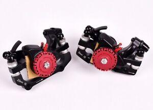 MTB Mountain XC Bike Hydraulic Disc Brakes Brake Lever Calipers Front Rear set
