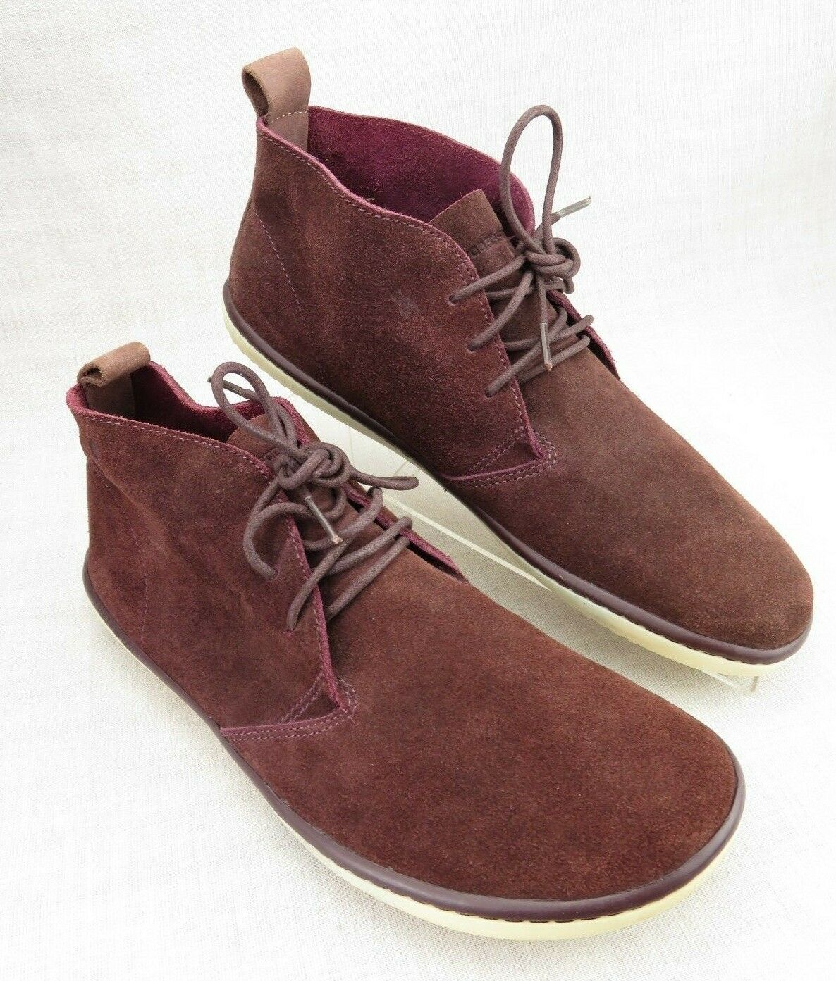 vendita all'ingrosso Vivobarefoot Gobi II M Rare Burgundy Suede Chukka Chukka Chukka Minimalist scarpe 42 Uomo US 9  vendita outlet