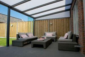 Terrassendach Bausatz Alu 6x3 5 M Pergola Uberdachung