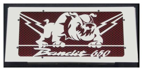 """grill Radiator cover//RADIATOR GUARDS SUZUKI GSF 650 Bandit 07 /> 14 /""""Bulldog/"""""""