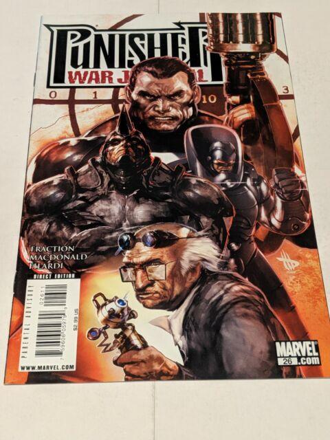 The Punisher War Journal #26 February 2009 Marvel Comics Fraction Filardi