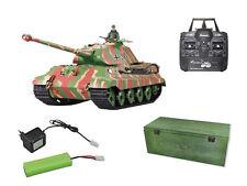 RTR Panzer Königstiger Porsche Holzbox Schuss Rauch Sound Heng Long 2.4GHz 23071