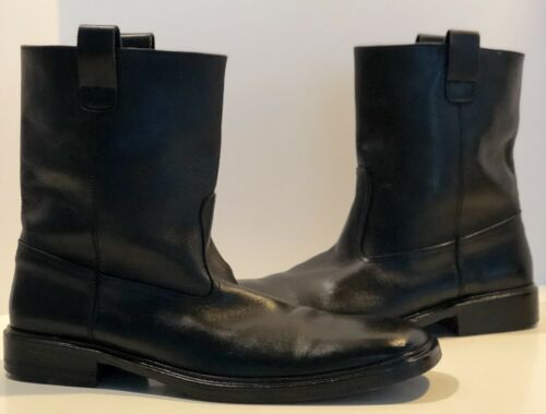 Gucci Black Leather Boots 🔥🔥Mens 12🔥🔥Awesome Q