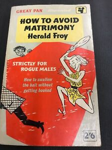 vintage-Sleaze-How-To-Avoid-Matrimony-Herald-From-1961-Combine-Shipping