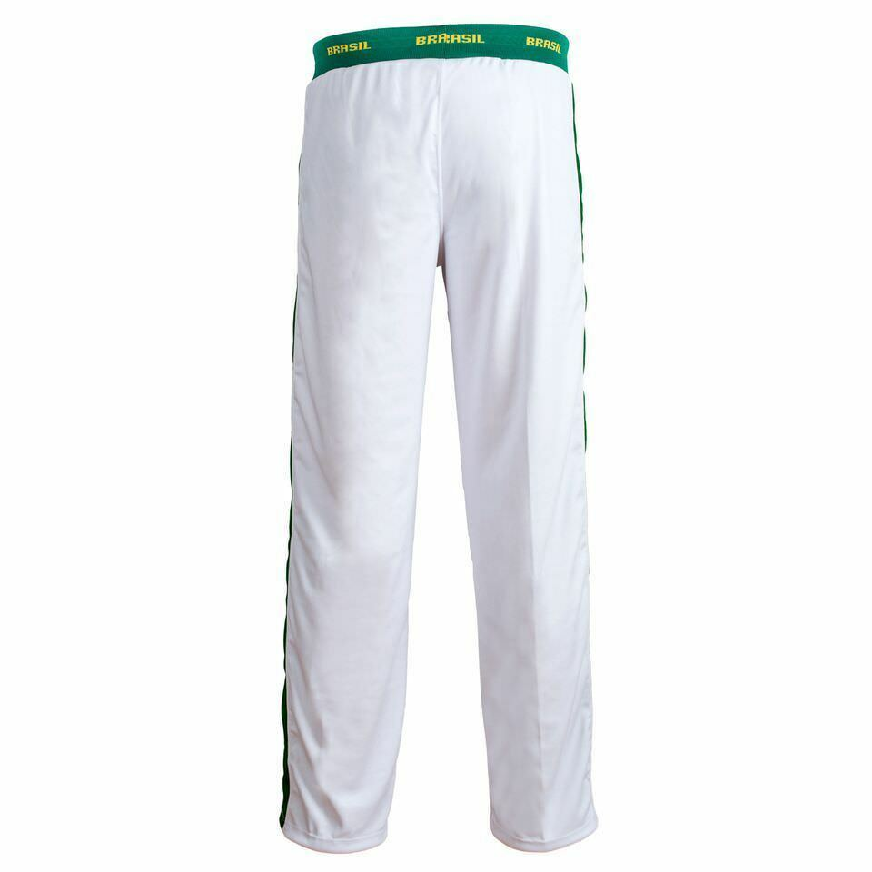 Unisex Weiß Brazil Capoeira Capoeira Capoeira Abada Kampfsport Elastische Hose 6 Größen a740e8